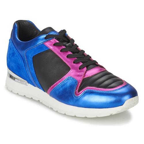 Shoes Women Low top trainers Bikkembergs KATE 420 Blue / Fuschia