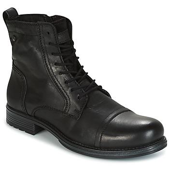 Shoes Men Mid boots Jack & Jones RISSOL ANTHRACITE