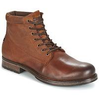 Shoes Men Mid boots Jack & Jones JUSTIN Brown