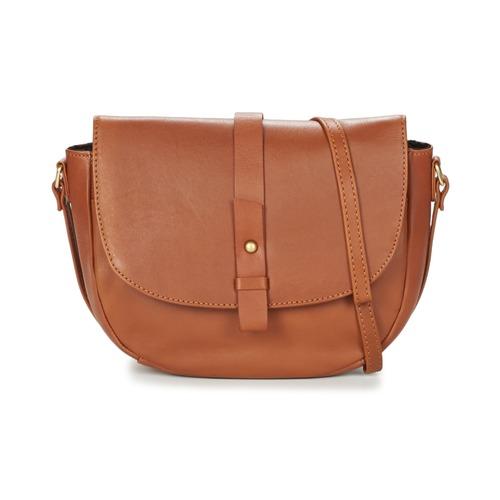Bags Women Shoulder bags Betty London LUISA Cognac