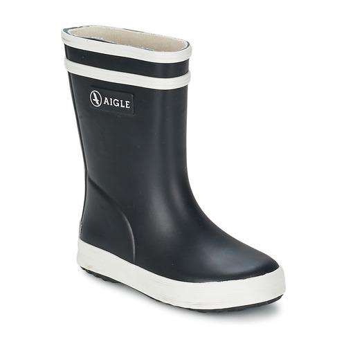 Shoes Children Wellington boots Aigle BABY FLAC Marine