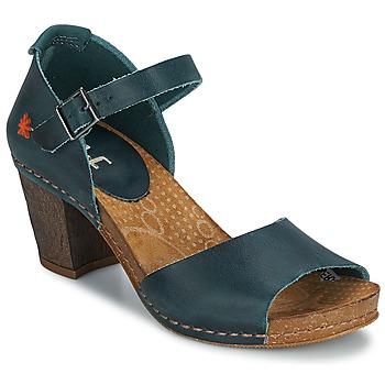 Shoes Women Heels Art IMEET Green / Duck