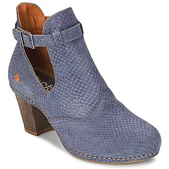 Shoes Women Ankle boots Art IMEET BO Blue