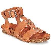 Shoes Women Sandals Art CRETA Camel