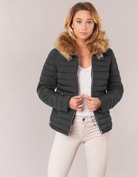 Clothing Women Duffel coats Casual Attitude HEYL Black