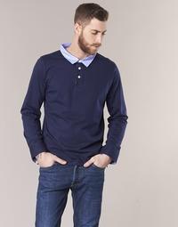 Clothing Men long-sleeved polo shirts Casual Attitude IHEYA Marine