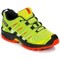 Shoes Children Multisport shoes Salomon XA PRO 3D J Yellow / Black