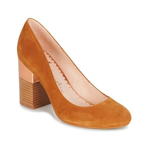Shoes Women Heels Mellow Yellow DABOL Camel