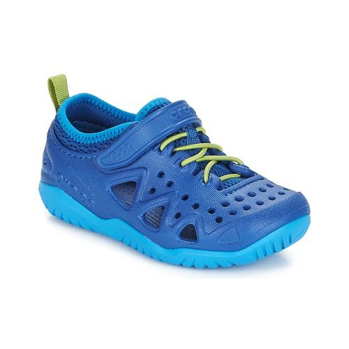 Shoes Boy Water shoes Crocs SWIFTWATER PLAY SHOE K Blue