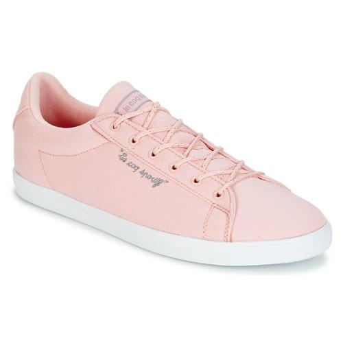 Shoes Women Low top trainers Le Coq Sportif AGATE LO CVS/METALLIC Pink