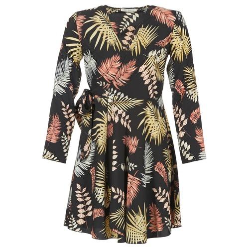 Clothing Women Short Dresses Betty London HYPO Black / Multicolour