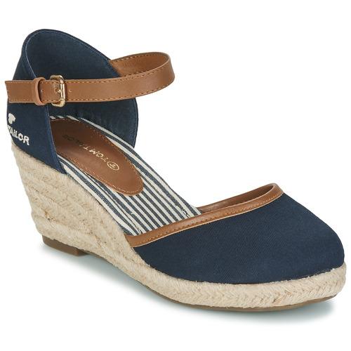 Shoes Women Sandals Tom Tailor ESKIM Marine
