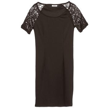 Clothing Women Short Dresses Only DIVA Black