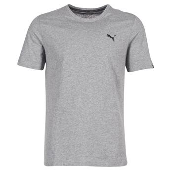 Clothing Men Short-sleeved t-shirts Puma ESS TEE Grey