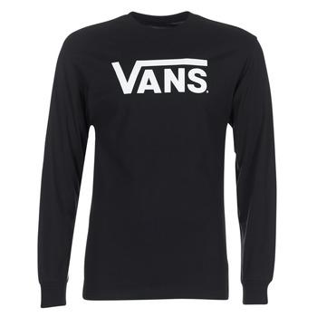 Clothing Men Long sleeved tee-shirts Vans VANS CLASSIC Black