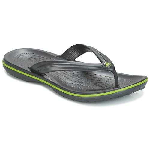 Shoes Flip flops Crocs CROCBAND FLIP Black / Green
