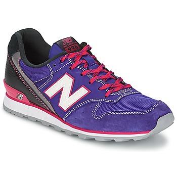 Shoes Women Low top trainers New Balance WR996 BORDEAUX / Blue