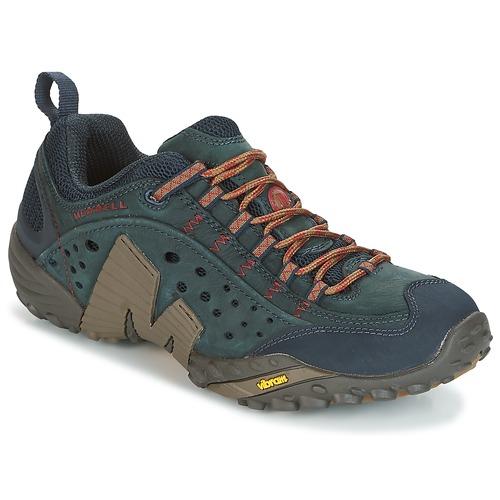 Shoes Men Walking shoes Merrell INTERCEPT Blue
