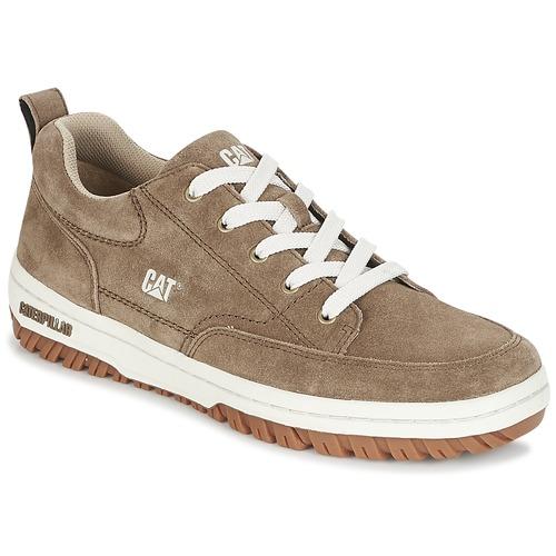 Shoes Men Low top trainers Caterpillar DECADE Grey