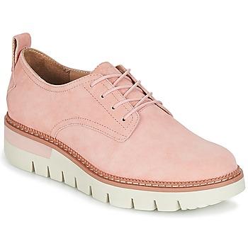 Shoes Women Derby Shoes Caterpillar WINDUP Peach