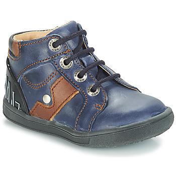 Shoes Boy Mid boots GBB REGIS Blue