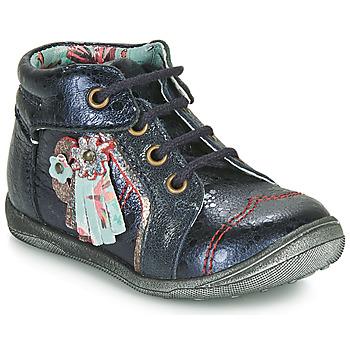 Shoes Girl Mid boots Catimini RAINETTE Marine