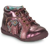 Shoes Girl Mid boots Catimini RAINETTE Bordeaux