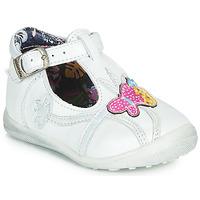 Shoes Girl Flat shoes Catimini SOLEIL White
