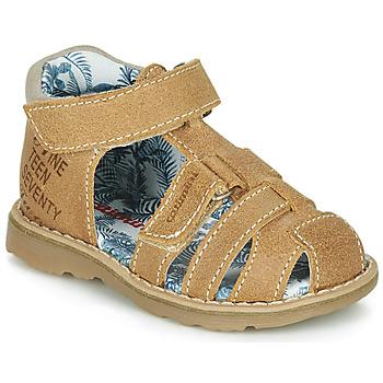 Shoes Boy Sandals Catimini SYCOMORE Cognac