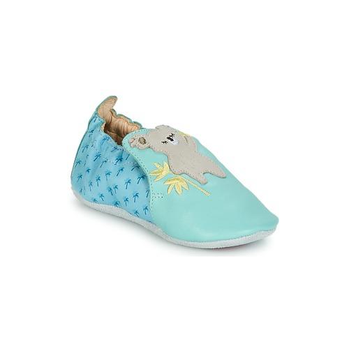 Shoes Children Baby slippers Catimini SHIVA Blue / Grey