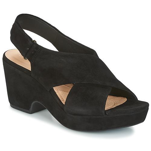 Shoes Women Sandals Clarks MARITSA LARA Black