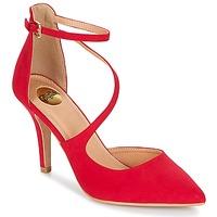 Shoes Women Heels Buffalo YOYOSBAND Red