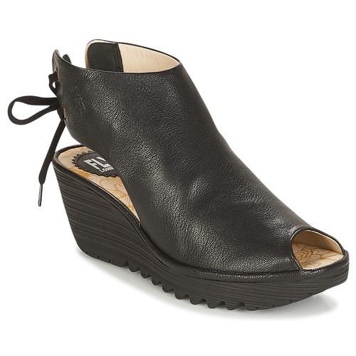 Shoes Women Sandals Fly London YUZU  black