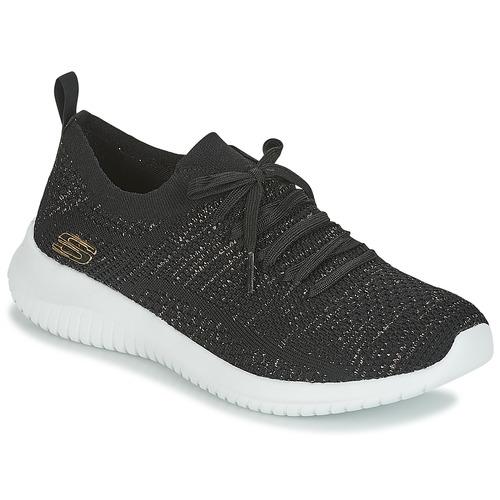 Shoes Women Fitness / Training Skechers ULTRA FLEX Black