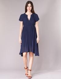 Clothing Women Short Dresses See U Soon 8121119 Marine