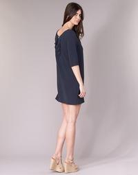 Clothing Women Short Dresses See U Soon 8121053 Marine