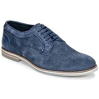 Shoes Men Derby Shoes Casual Attitude IQERQE Blue