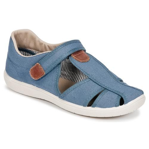 Shoes Boy Sandals Citrouille et Compagnie GUNCAL Blue