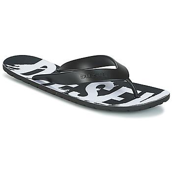 Shoes Men Flip flops Diesel SPLISH Black
