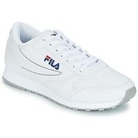 Shoes Men Low top trainers Fila ORBIT LOW White