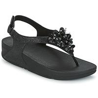 Shoes Women Sandals FitFlop BOOGALOO BACK STRAP SANDAL Black