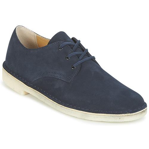 Shoes Men Low top trainers Clarks Desert Crosby Navy
