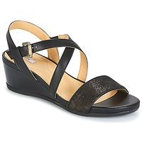 Shoes Women Sandals Geox MARYKARMEN A Black