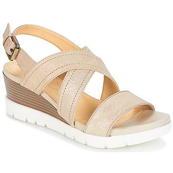Shoes Women Sandals Geox MARYKARMEN P.B Gold