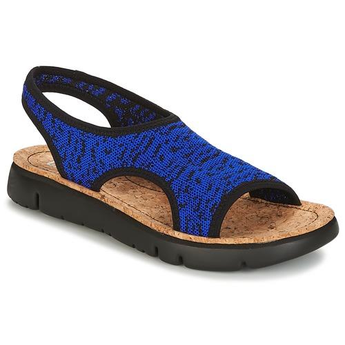 Shoes Women Sandals Camper ORUGA Blue