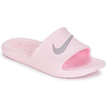 Shoes Women Tap-dancing Nike KAWA SHOWER SANDAL W Pink / Grey
