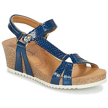 Shoes Women Sandals Panama Jack VIOLETTA Marine