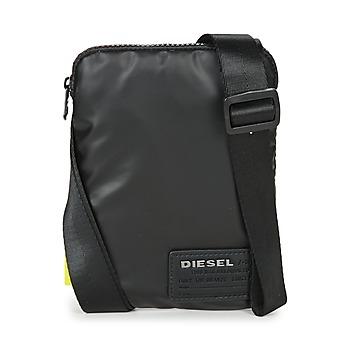Bags Men Pouches / Clutches Diesel DISCOVER SMALLCROSS Black