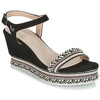 Shoes Women Sandals Kaporal SLYDE Black