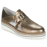 Shoes Women Derby Shoes Philippe Morvan DISCO Bronze